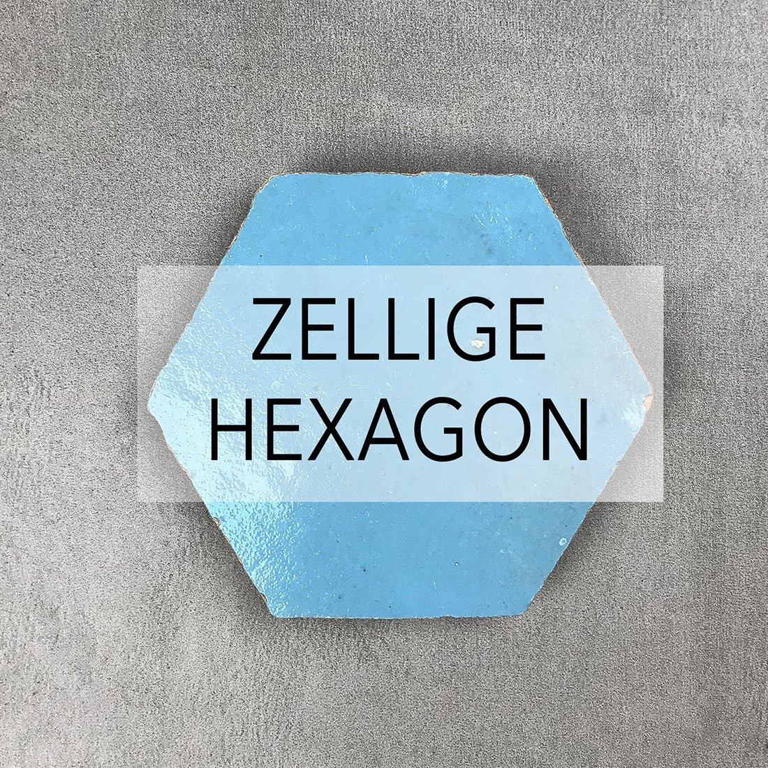 Zellige Hexagon Tiles