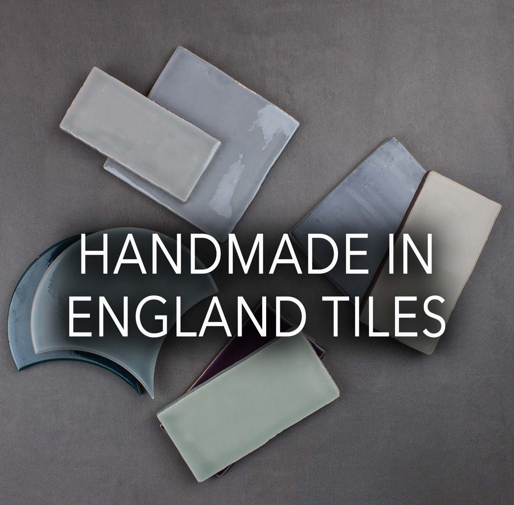Handmade in England Tiles