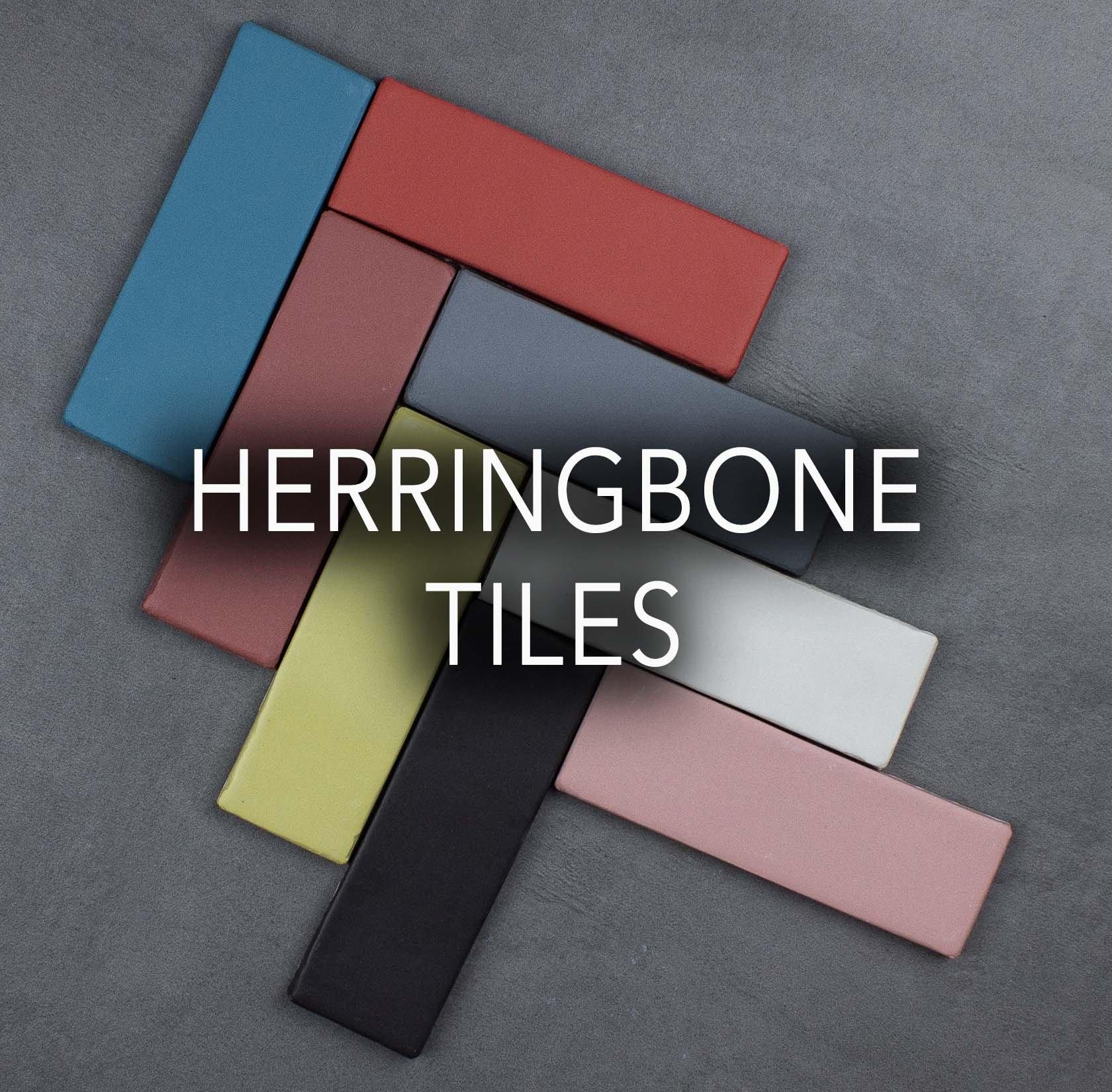 Herringbone Porcelain tiles