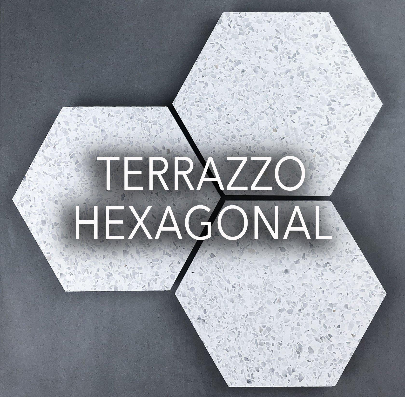 Terrazzo hexagonal