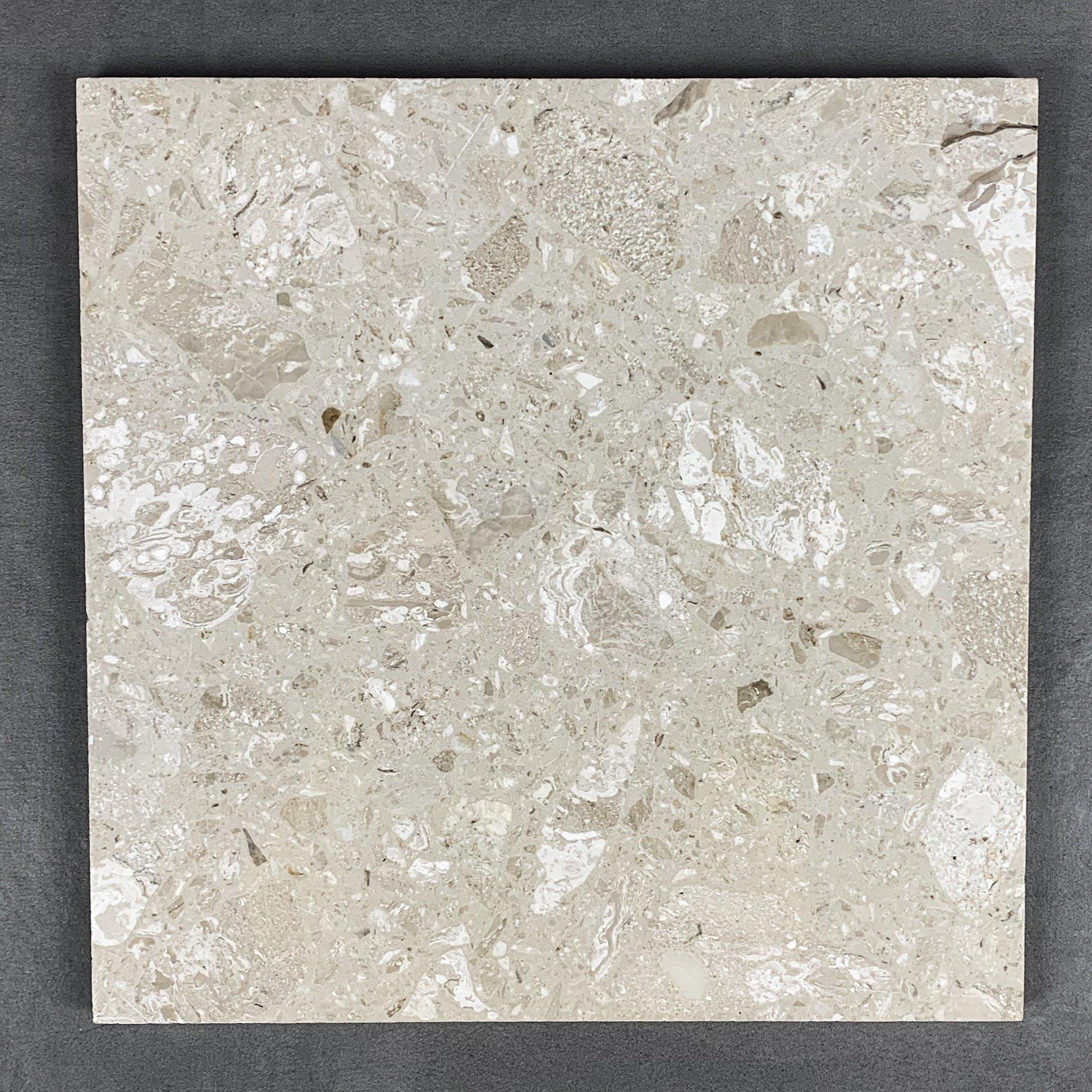 Bergamo Cream Terrazzo Resin Tiles