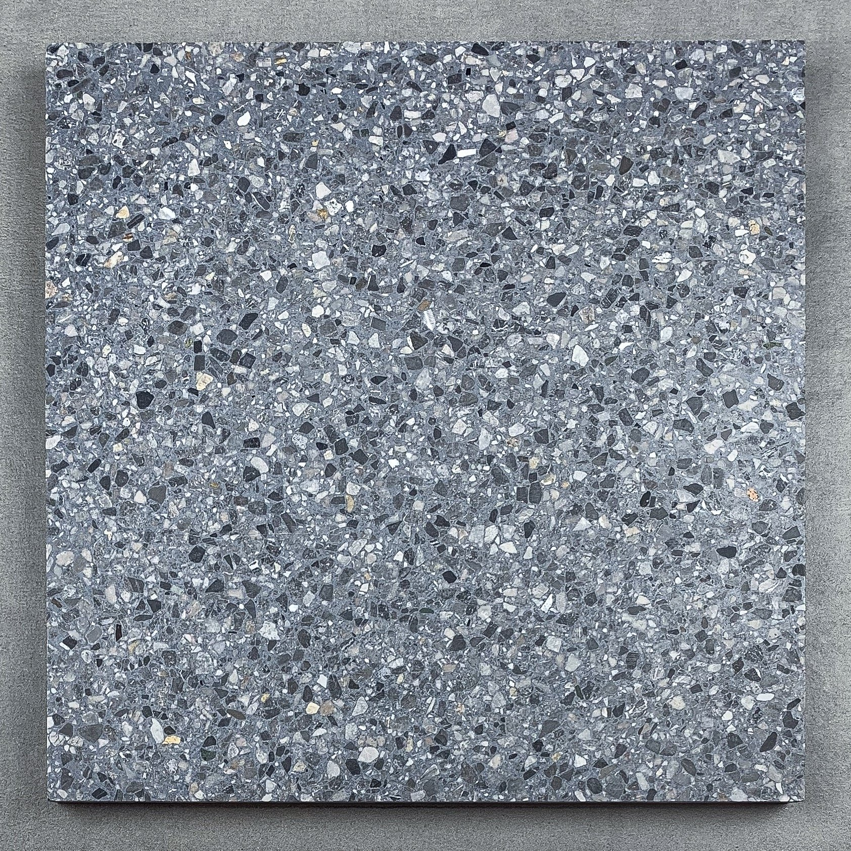 London Dark Grey Terrazzo Essential Tiles