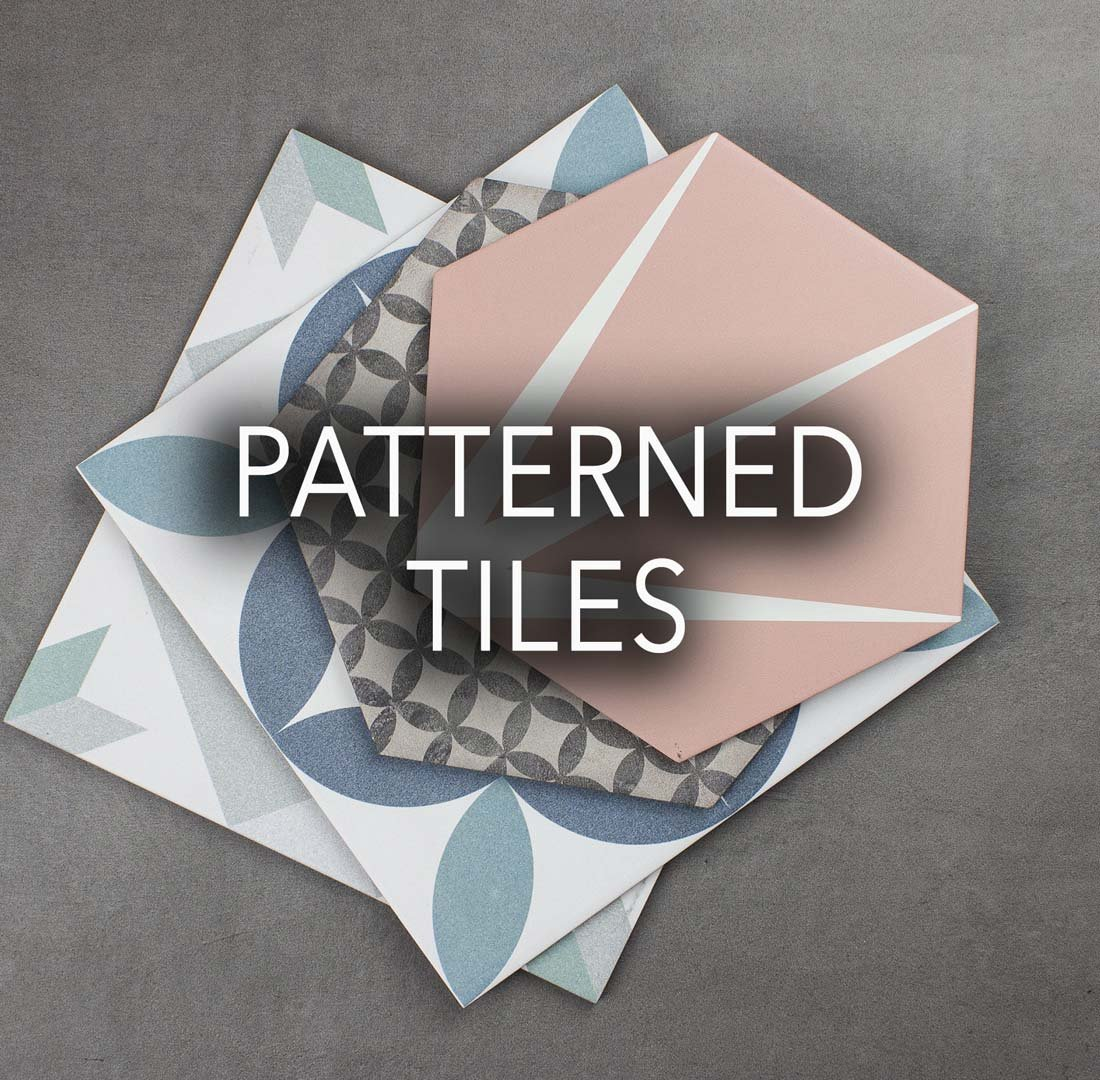 Patterned Porcelain Tiles