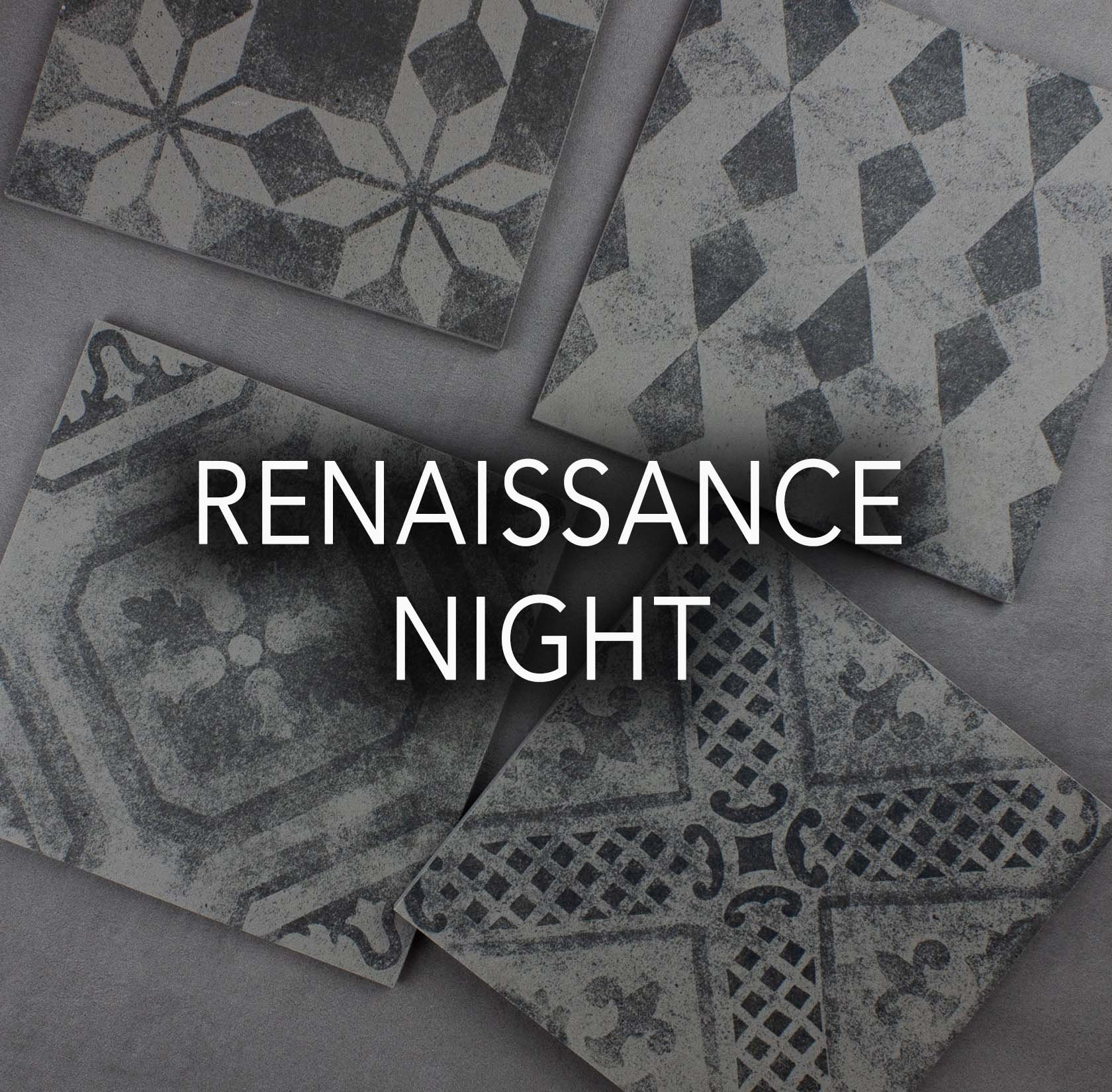 Renaissance Night Porcelain Tiles
