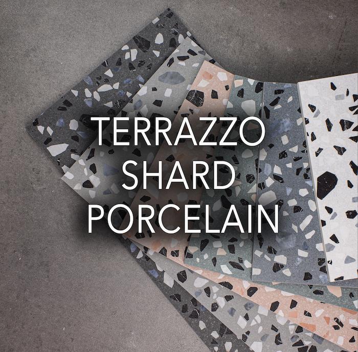 Terrazzo Shard Porcelain Tiles