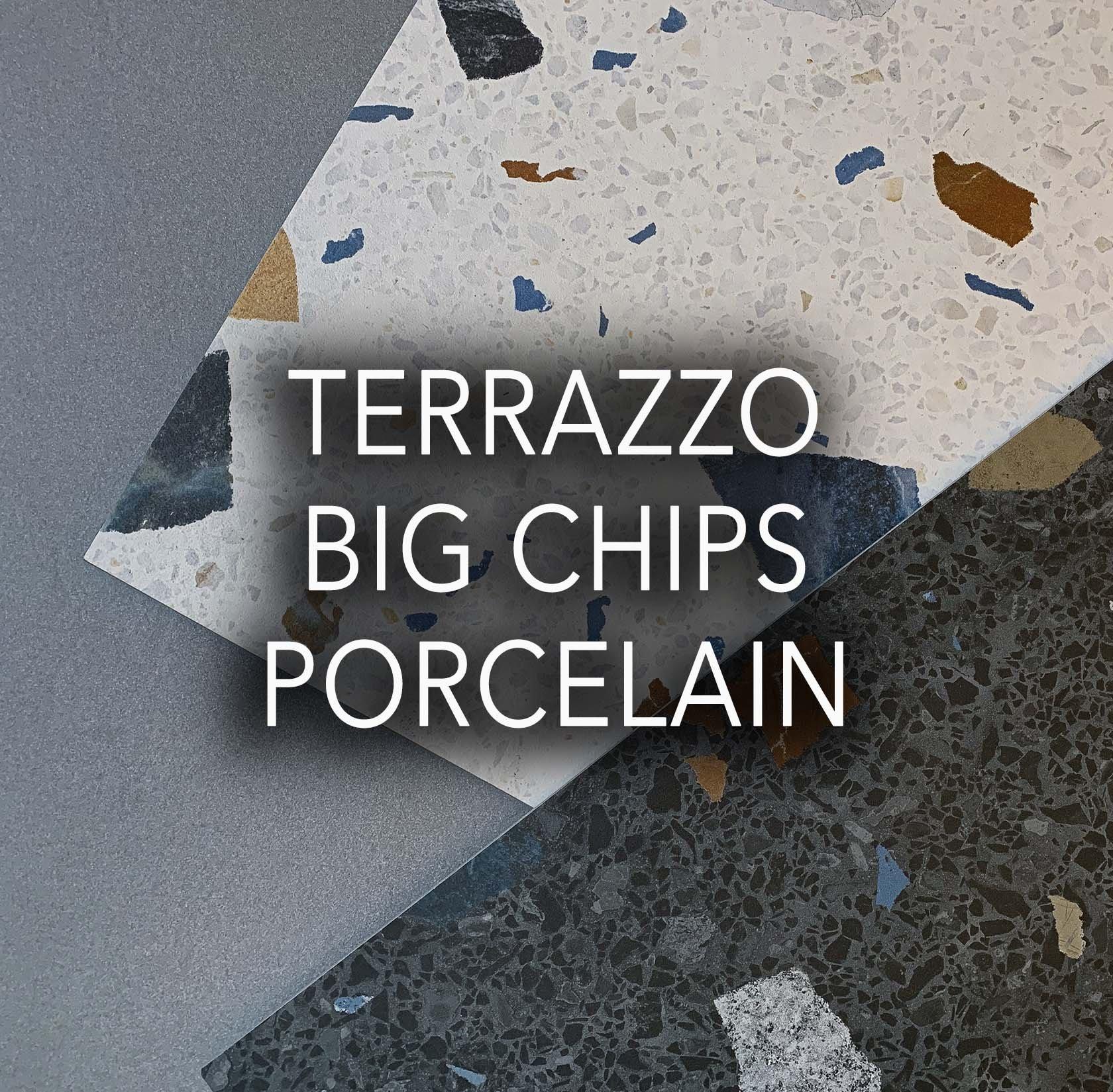 Terrazzo Big Chips Porcelain Tiles