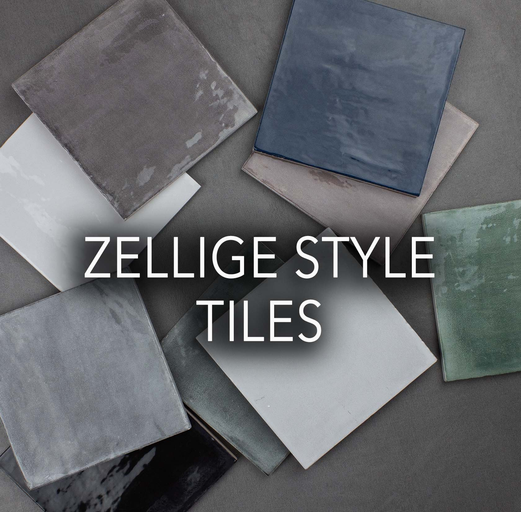 Zellige Style Ceramic tiles