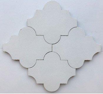 Arabesque Solid Colour Cement Tile