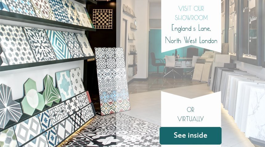 Buy Bespoke Encaustic Cement Tiles Online | Terrazzo Tiles, London, UK