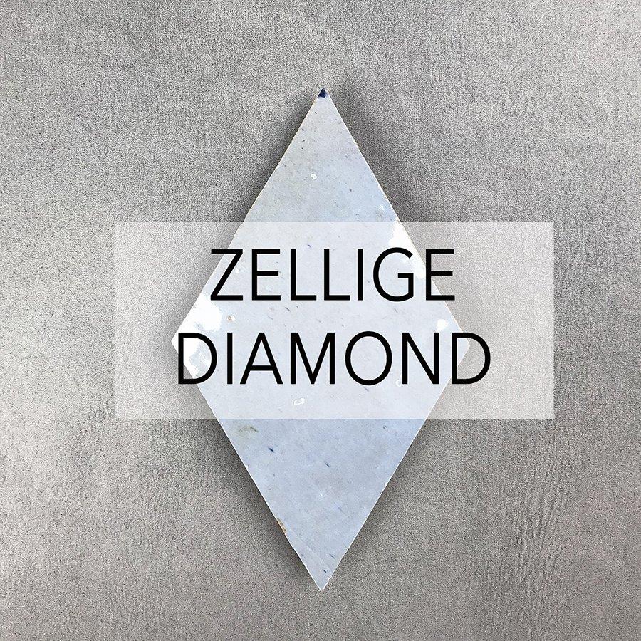 Zellige Daimond Tiles