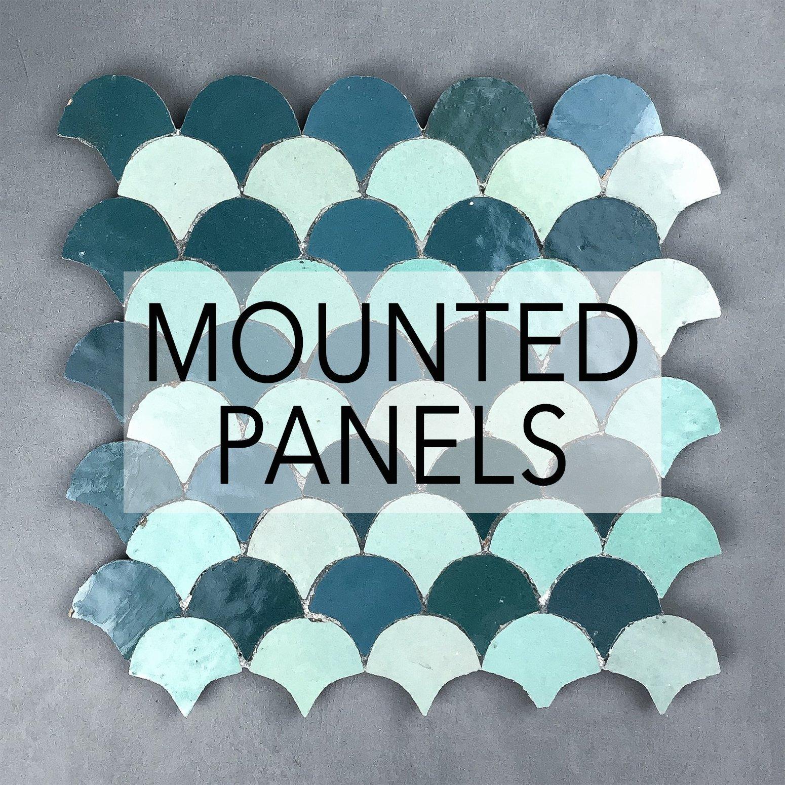 Mounted Panels