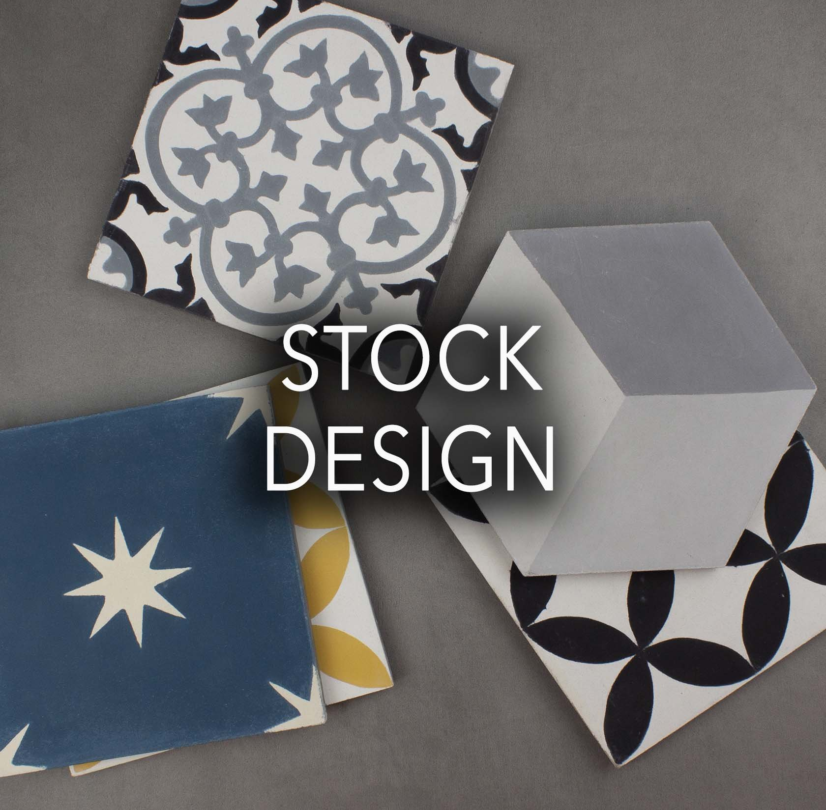 Stock Cement tiles