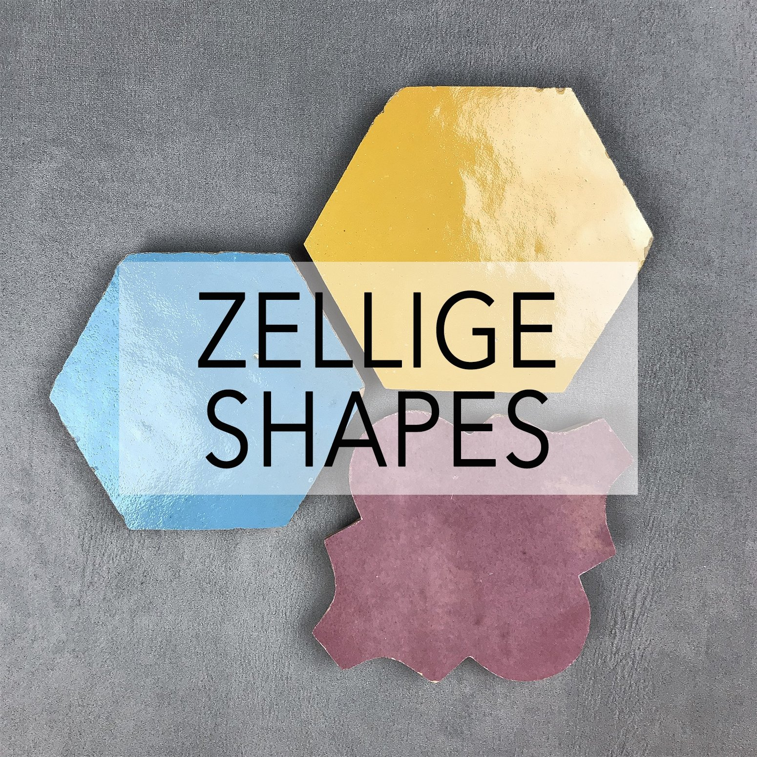Zellige Shapes Tiles